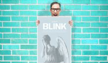 Doctor Who Don't Blink Weeping Angel - Wall Art Print Poster Pick A Size - Tv Art Geekery